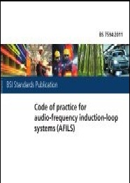 code of practice for audio frequency induction loop systems