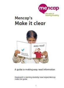 Mencap information guide
