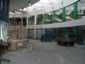 Nailsea Secondary School under construction