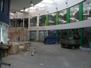 Nailsea Secondary School under construction