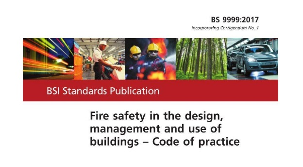 BS 9999:2008 – Code of practice for fire safety in the design, management and use of buildings ...