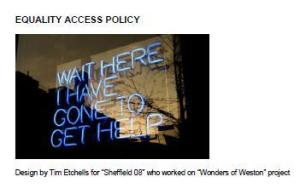 Equality Access Policy