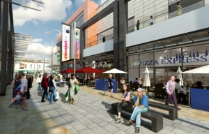 Proposed Dolphin Square Weston-super-mare