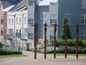 Image of three storey housing in Portishead