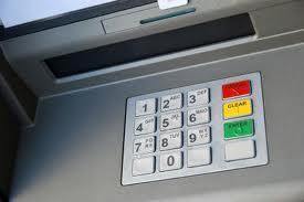 ATM keyboard