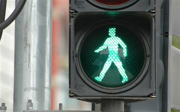 Crossings And Pedestrian Walking Speeds