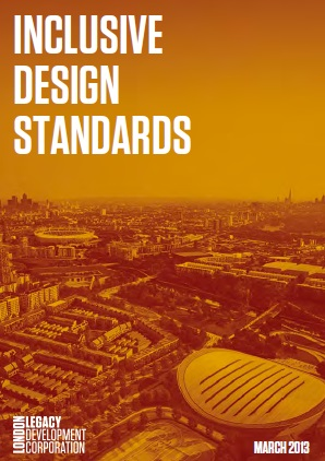LLDC Inclusive design standards