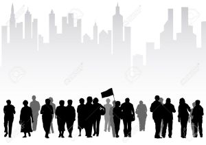 6308478-drawing-crowds-of-tourists-on-background-of-a-big-city-Stock-Vector