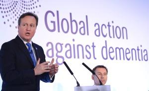 David Cameron at G8 conference