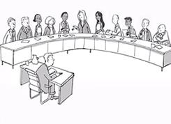 picture is a web link to video on select committees