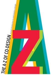 Graphic using letters A and Z overlaid
