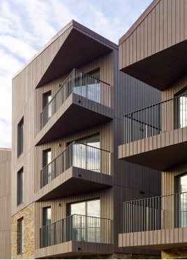 balconies on flats