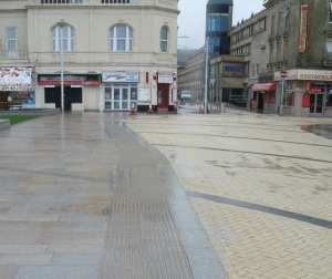 shared space without kerbs