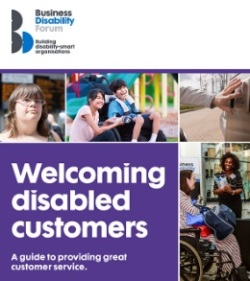 document cover showing images of disabled people